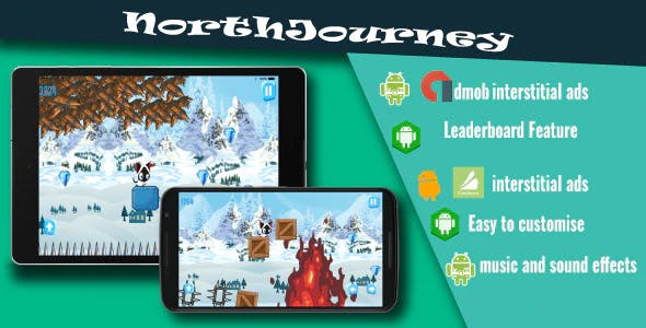 NorthJourney - Buildbox Game Template