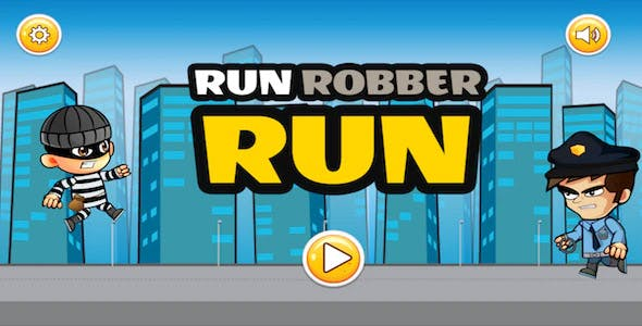 Run Robber Run - Buildbox Game Template