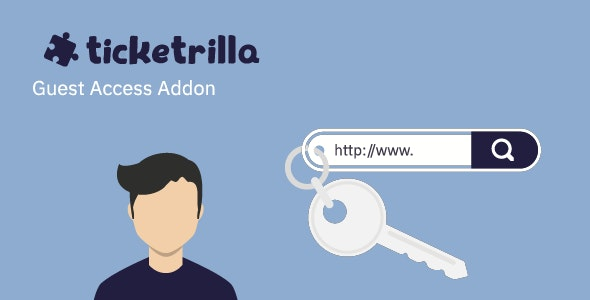 Ticketrilla: Guest Access Addon - CodeCanyon Item for Sale