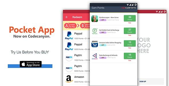 IOS Rewards App - POCKET
