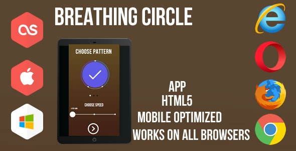 Breathing Circle - App Construct 2&3 - CodeCanyon Item for Sale