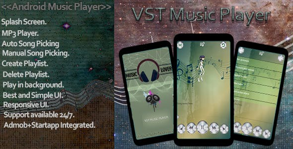 VST Music Player Pro App Template