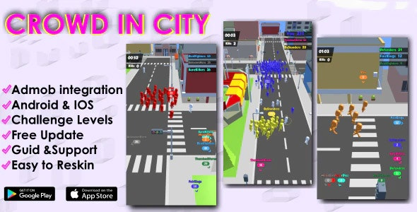 Crowd City Complete Unity Project