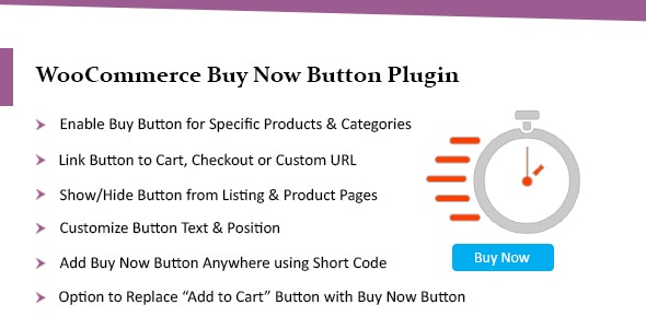 WooCommerce Buy Now Button Plugin - Add Quick Buy Button - CodeCanyon Item for Sale