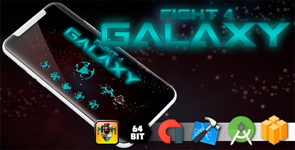 Fight 4 Galaxy Game Template - CodeCanyon Item for Sale