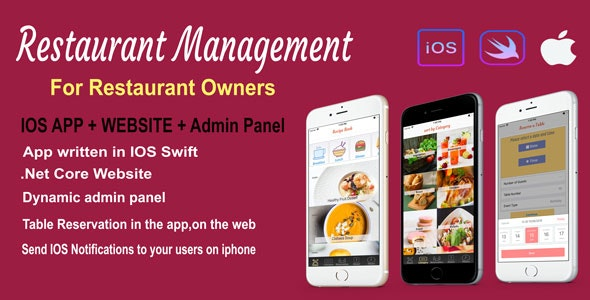 Restaurant Management - CodeCanyon Item for Sale