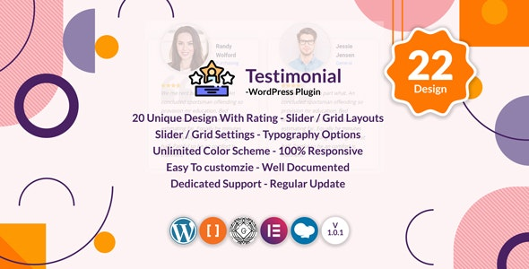 Testimonials Slider / Grid - WordPress Testimonials Plugin - CodeCanyon Item for Sale