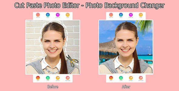 Cut Paste Photo Editor - Photo Background Changer Android
