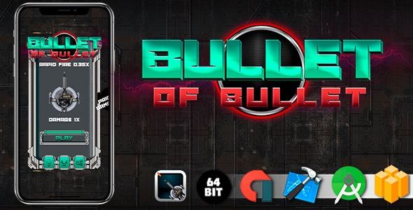 Bullet Of Bullet Game Template - CodeCanyon Item for Sale