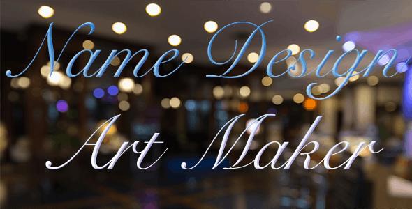 Name Design Art Maker