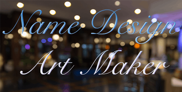 Name Design Art Maker - CodeCanyon Item for Sale