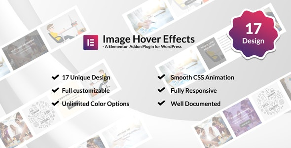 Image /Thumb Hover Effects Collection - Elementor Page Builder - CodeCanyon Item for Sale