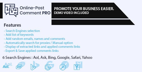 Online-Post Comment PRO
