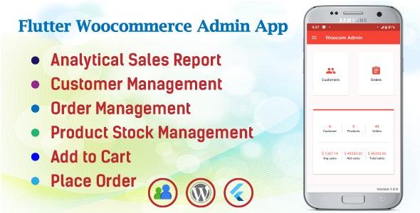 Woocom Admin - Flutter Woocommerce Admin Mobile App - CodeCanyon Item for Sale