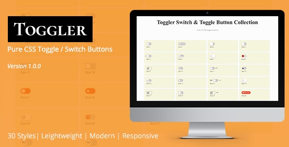 Toggler Switch & Toggle Button Collection - CodeCanyon Item for Sale