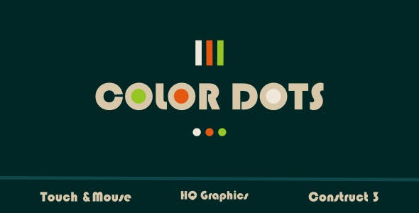 Color Dots - HTML5 Game (Construct3)