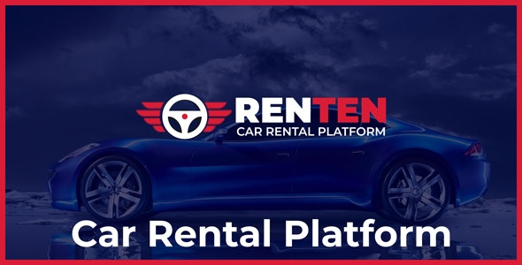 Renten - Car Rental Platform - CodeCanyon Item for Sale