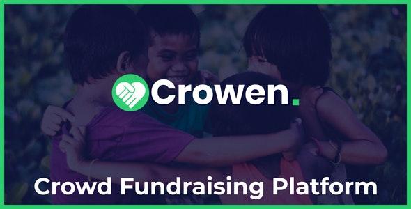 Crowen - Crowd Fundraising Platform - CodeCanyon Item for Sale