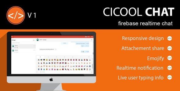 Cicool - Firebase Realtime Chat