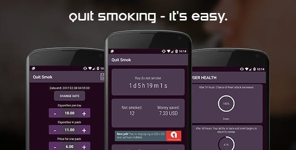 Quit smoking (android)