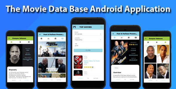 The Movie Data Base Ionic Android Application