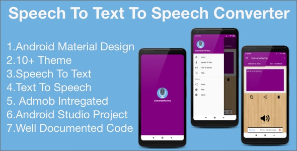TranslatorForYou| Speech to Text |Text to Speech with Admob - CodeCanyon Item for Sale