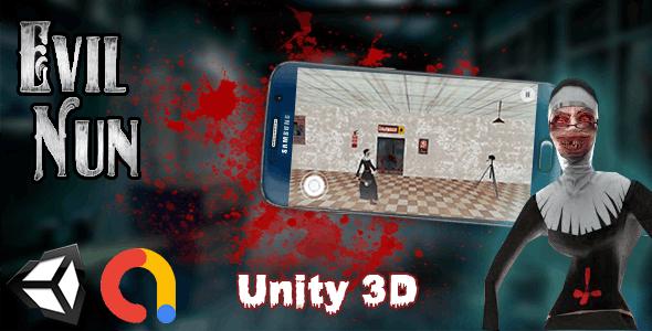 Evil Nun Horreur Unity 3D