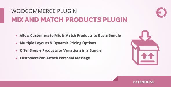 WooCommerce Mix and Match Products Plugin