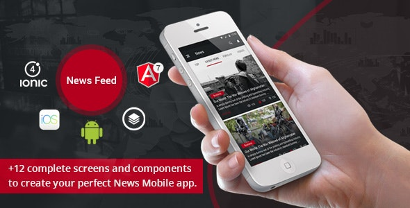 Ionic 4 News Feed - CodeCanyon Item for Sale