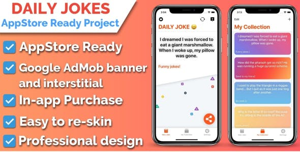 Daily Jokes iOS Application