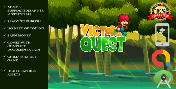 Victor Quest Super Boy : Full adventure Android studio Game