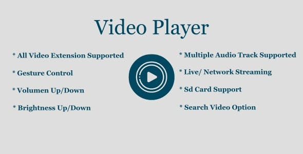 Video Player, Mx Player, Online Video Player