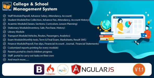 Fabsam CSMS - College & School Management System