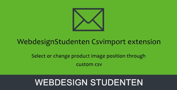 Product page image position csv