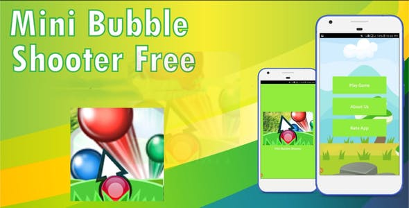 Bubble Shooter Game [Android Studio]