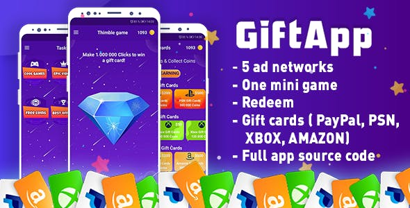 GiftApp – Make Money & Free gift cards