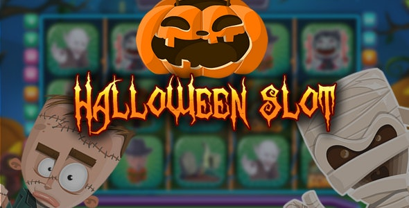Halloween Slot - html5 game, capx - CodeCanyon Item for Sale