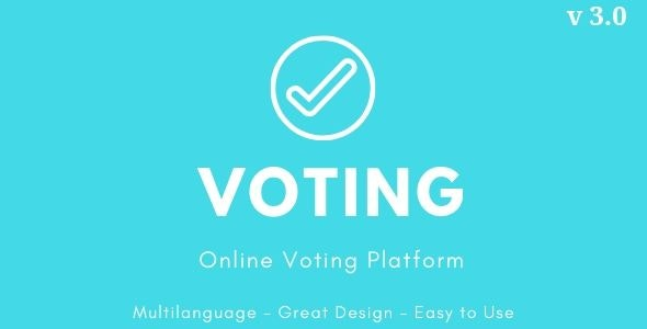 Voting - Online Voting Platform - CodeCanyon Item for Sale
