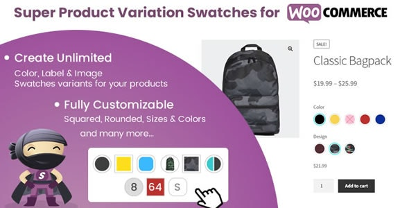 Super Product Variation Swatches for WooCommerce - CodeCanyon Item for Sale