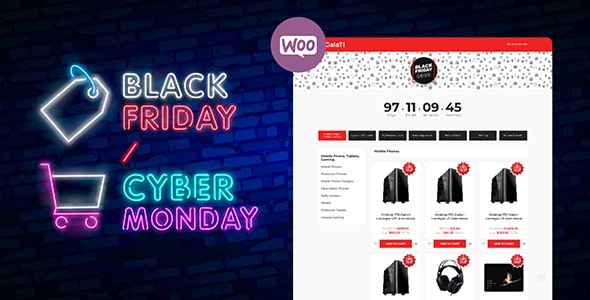 Black Friday / Cyber Monday Mode Plugin for WooCommerce - CodeCanyon Item for Sale