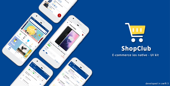 Ios Native E-Commerce UI - Shopclub