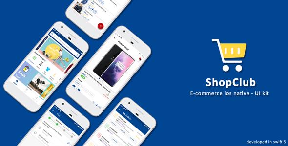 Ios Native E-Commerce UI - Shopclub