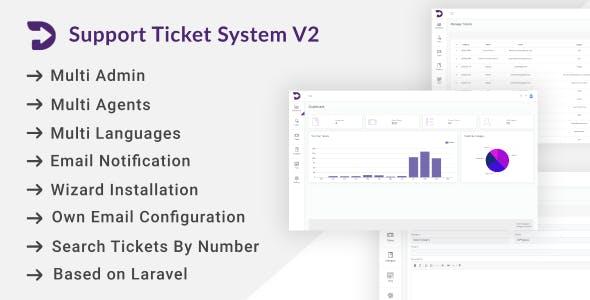 Support Ticket System V2