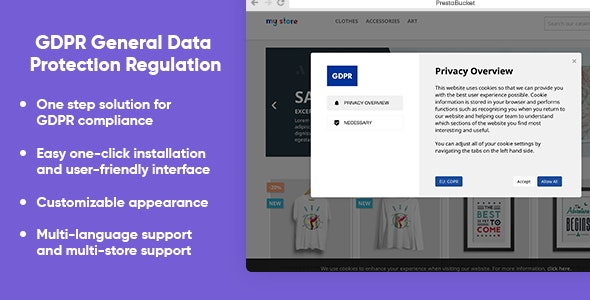 GDPR PRO General Data Protection Regulation - ALL in 1 - CodeCanyon Item for Sale