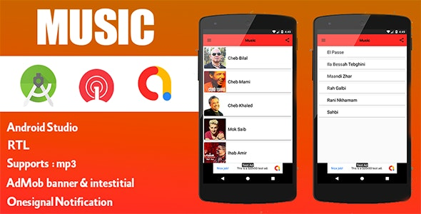 Music Mp3 Player For Android - CodeCanyon Item for Sale