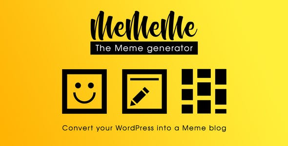 MeMeMe - The Meme Generator | WP Plugin