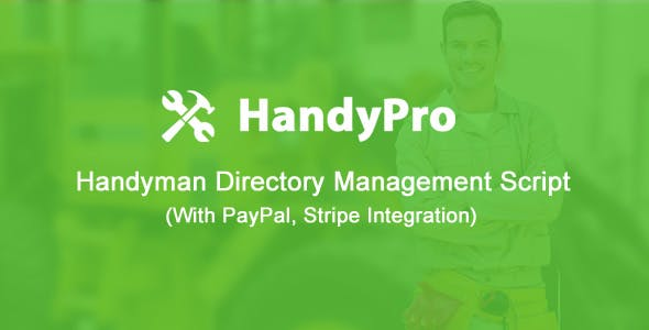 HandyPro - Handyman Directory Management Script with Payment Automation