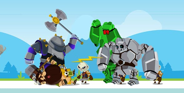 BATTLE OF HEROES _ COMPLETE UNITY GAME