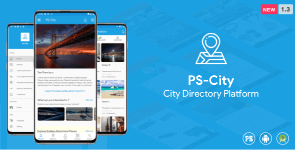 PS City Guide ( Directory/City Guide App For A City ) 1.3 - CodeCanyon Item for Sale