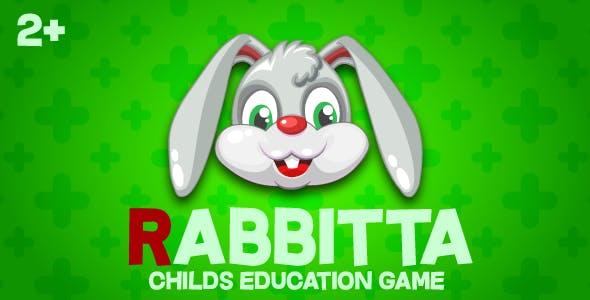 Rabbitta - HTML5 game, construct 2/3, mobile, adSense,